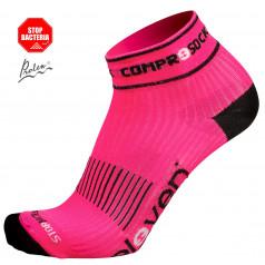 Kompresné ponožky Luca Compress ružové