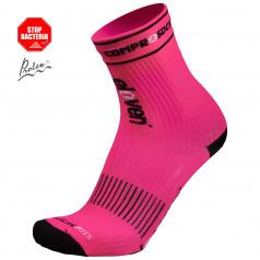 Kompresné ponožky Suuri Compress ružové