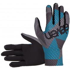 Bežecké rukavice Eleven BEE Azure