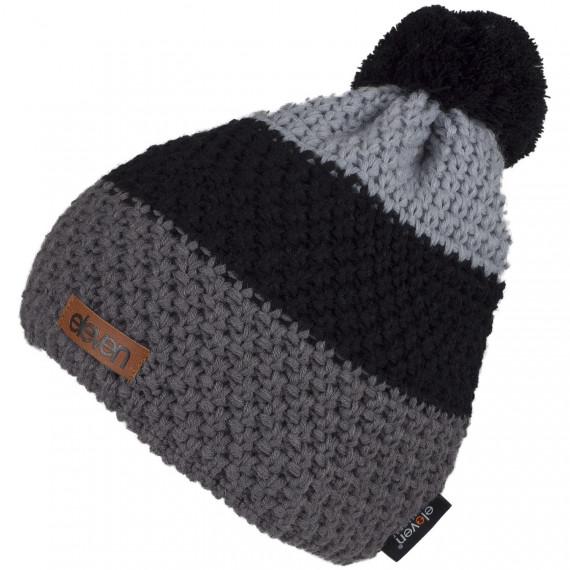 Pletená čiapka Eleven POM Black