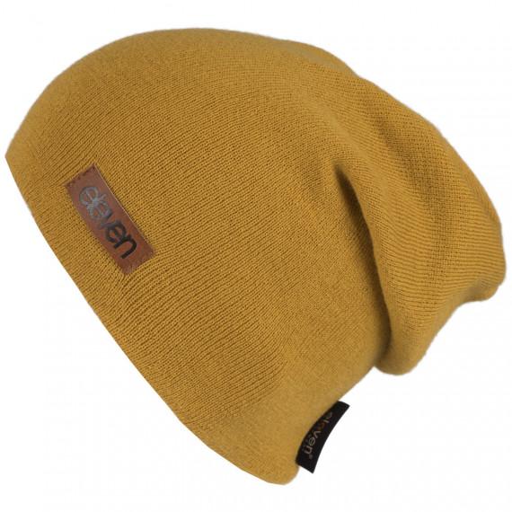 Pletená čiapka Eleven L - Mustard
