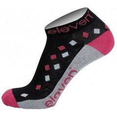 Ponožky LUCA RHOMB violet