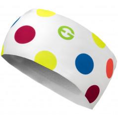 Čelenka ELEVEN HB Dolomiti Dots Color White