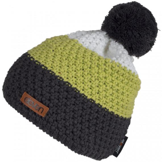 Pletená čiapka Eleven POM Green