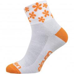 Ponožky HOWA FLOWER ORANGE