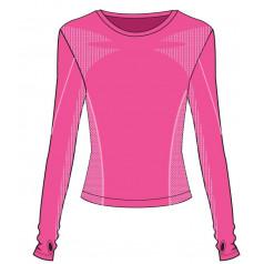 R2 Bassy funkčné tričko detské Pink ATF304A