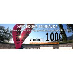 Darčkeková poukážka v hodnote 100€