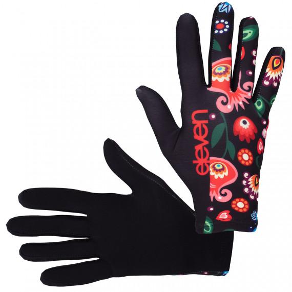 Bežecké rukavice Folklór čierne