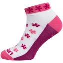 Ponožky LUCA FLOWER PINK