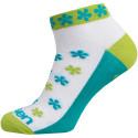Ponožky LUCA FLOWER GREEN