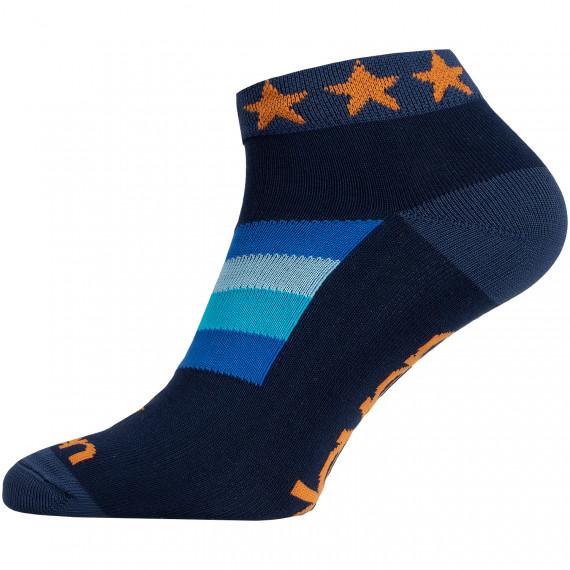 Ponožky LUCA STAR ORANGE