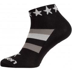 Ponožky LUCA STAR WHITE
