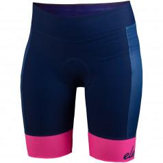 Eleven cyklistické nohavice Navy Pink