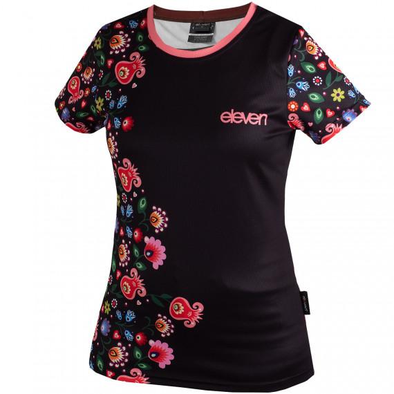 Bežecké tričko Annika Micro Folklór čierne