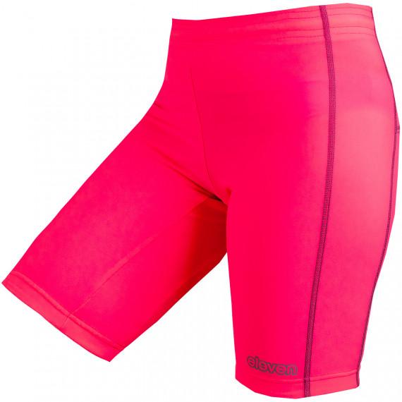 Krátke elastické nohavice Miky Pink Reflex