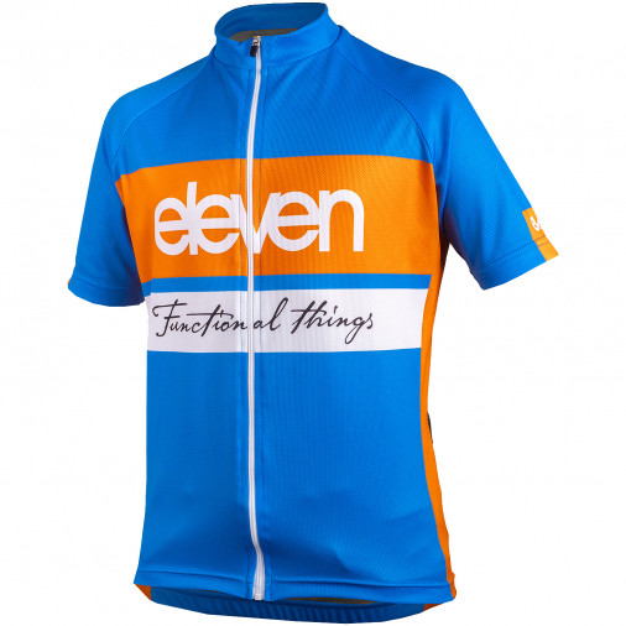 Cyklistický dres detský Eleven Hor Orange