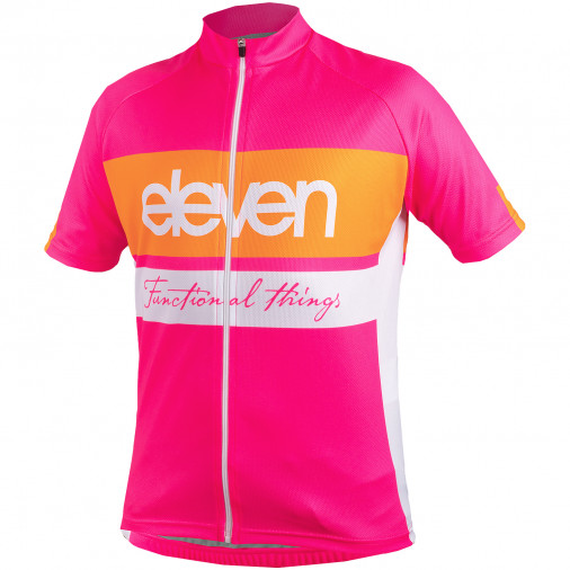Cyklistický dres detský Eleven HOR Pink