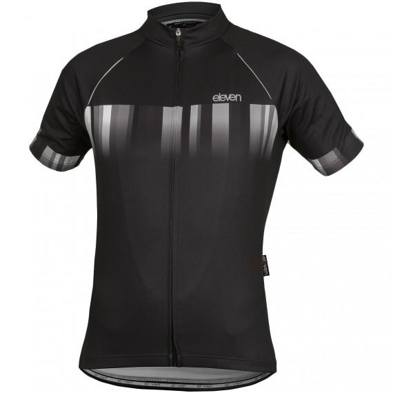 Cyklistický dres Eleven Black White