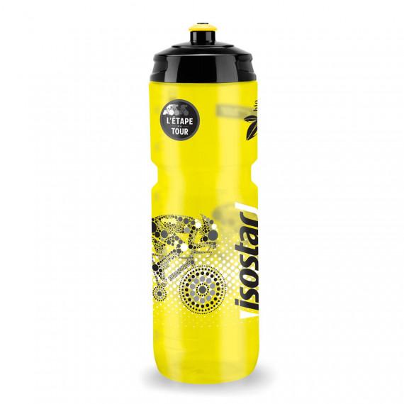 Cyklistická fľaša Isostar 800 ml Žltá