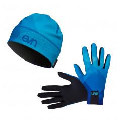 Eleven set bežecké rukavice Top 1 + čiapka AIR Top 1