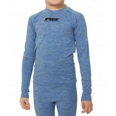 R2 Bassy funkčné tričko detské modré ATF303A