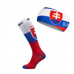 Eleven set kompresné podkolienky + čelenky Slovakia