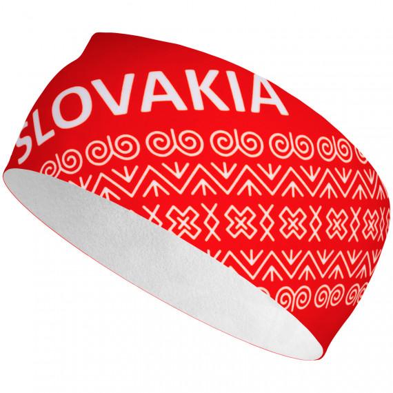 Čelenka ELEVEN Slovensko čičmanský vzor červeny
