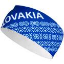 Čelenka ELEVEN Slovensko čičmanský vzor modrý