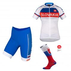 Eleven dámsky cyklistický set Slovensko
