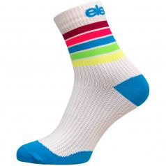 Eleven kompresné ponožky Strada Stripe White