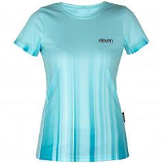 Bežecké tričko Annika Strip Aqua