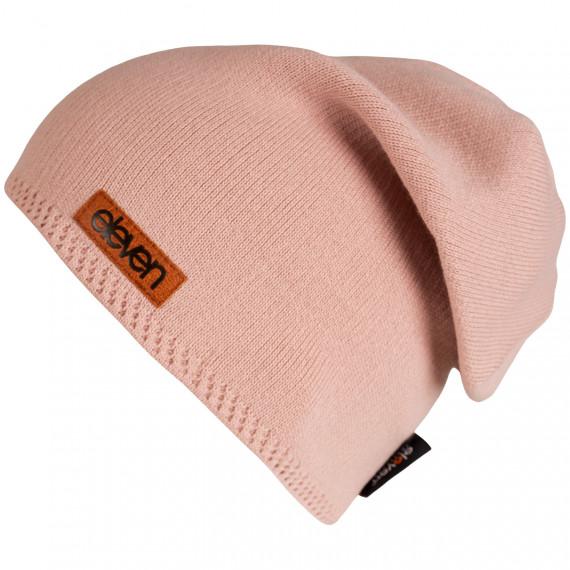Pletená čiapka Eleven L - Pink