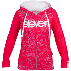 Mikina Eleven Pink Silver Lady