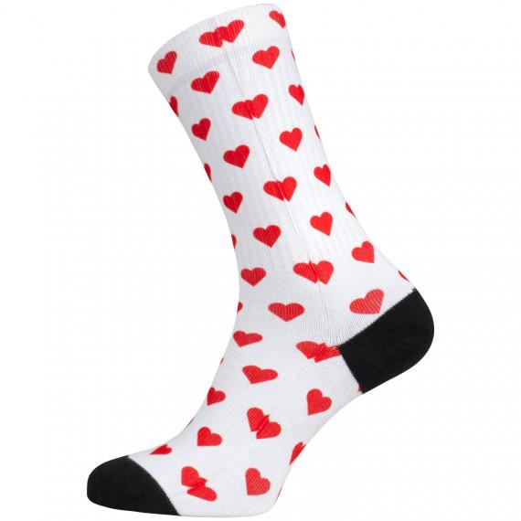 Ponožky NINA Heart White