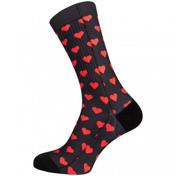 Ponožky NINA Heart Black