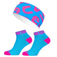Eleven set ponožky Luca Bloom + čelenka Lett
