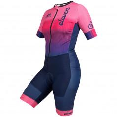 Eleven dámska cyklistická kombinéza Bike Pink Navy