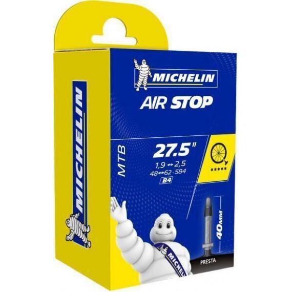 """Duša Michelin Air Stop 27"""" 1,9-2,5 Galuskový ventil"""