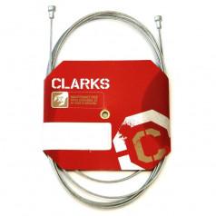 Brzdové lanko Clarks Road W8012 nerez