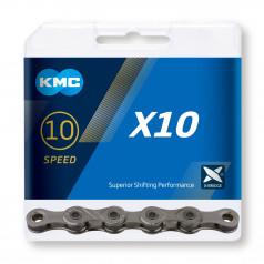 Reťaz KMC X10 Gray, 10 Speed