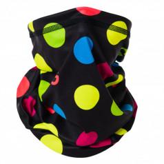 Multifunkčná šatka ELEVEN Dots Color Black