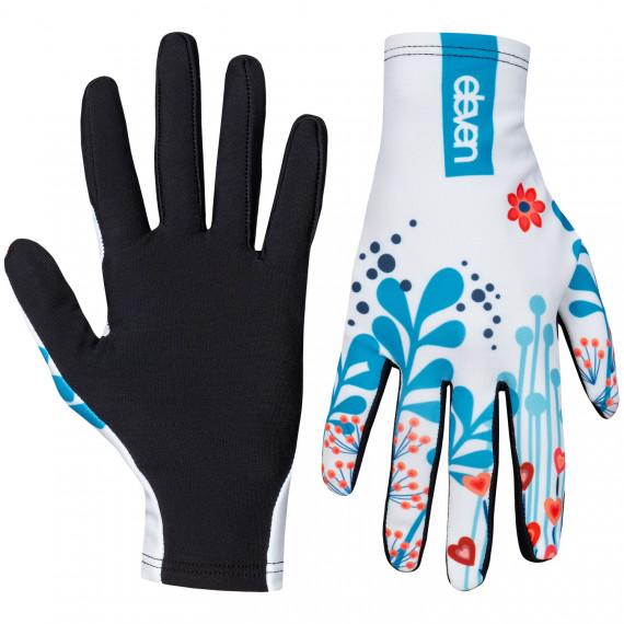 Bežecké rukavice Eleven Meadow White